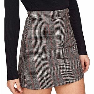 Cute plaid skirt